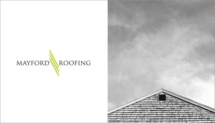 logo designers can help make your business seem larger than it is | roofing logo